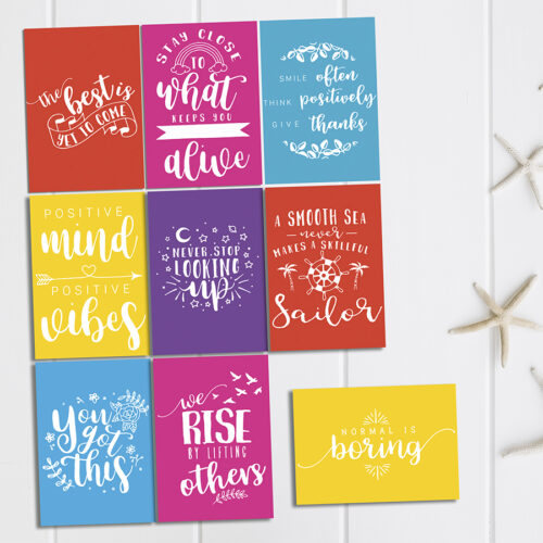 positive affirmation cards