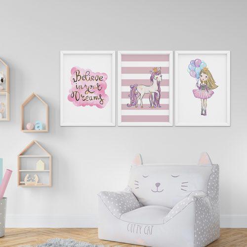 gyerekszoba fali dekoráció