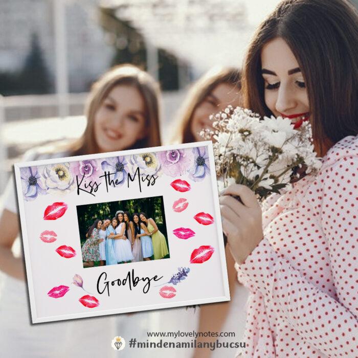 lánybúcsú játék kiss the miss