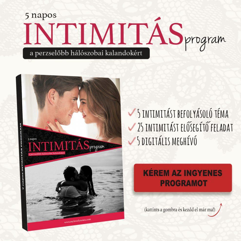 intimitás erősítő program